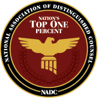 National Association of Distinguished Counsel - Nations Top One Percent
